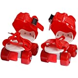 Revent Roller Skates Plastic Red,SkyBlue & Pink