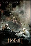 Close Up The Hobbit Poster Die Schlacht der fünf Heere Aftermath (93x62 cm) gerahmt in: Rahmen schwarz