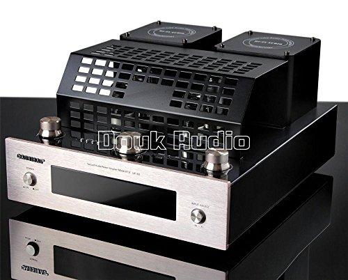 Nobsound 160W Bluetooth 4.0 Vacuum Tube Power Amplifier Stereo HiFi Class AB Integrated Audio Amp USB/SD Card Vakuum-Verstärker (Vakuum-verstärker)