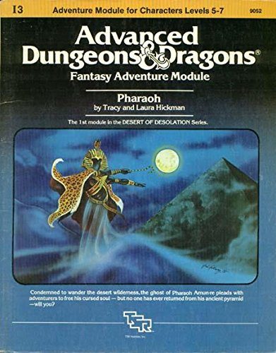 Price comparison product image Pharaoh: Advanced Dungeons & Dragons Fantasy Adventure Module (Module I3 for Characters Levels 5-7)