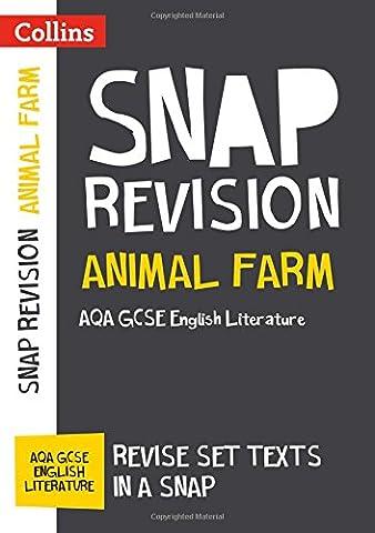 Animal Farm: AQA GCSE English Literature Text Guide (Collins Snap Revision)