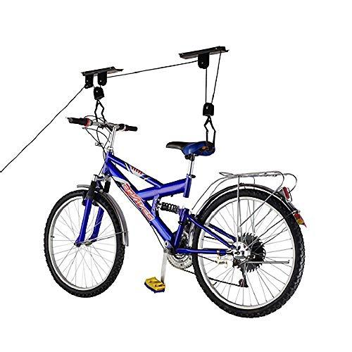 Imagen de Poleas Para Colgar Bicicletas Techo Primematik.com por menos de 20 euros.
