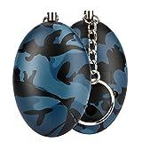 Saihui New Keychain personal Alarm Siren Song fischio di sopravvivenza bag, D
