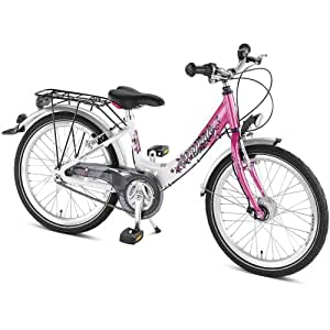 puky kinder fahrrad skyride 20 3 alu white pink 20 4455. Black Bedroom Furniture Sets. Home Design Ideas