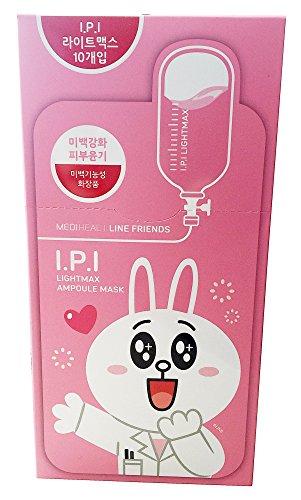 Mediheal Line Friends Ampulle Masken IPI Lightmax Feuchtigkeits Zellulose Hautpflege (Zahnaufhellung Feuchtigkeit)