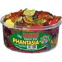 Haribo Phantasia, Caramelle Gommose alla Frutta, Dolci, Barattolo da 1000g