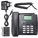Euopat Telefono Senza Fili, Telefono Aziendale gsm Telefono Fisso Telefono SIM Mobile Home Office Telefono Desktop