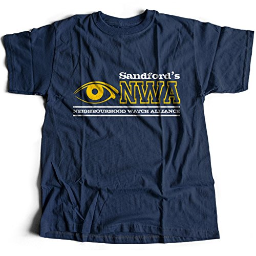 Flamentina 9158n NWA Neighbourhood Watch Alliance Herren T-Shirt Hot Fuzz - Fuzz-t-shirt Hot