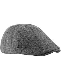 New Beechfield Unisex Mens Fashion Lined Wool Ivy Flat Cap b9c4917a0aa1