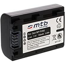 Batería NP-FP50/FH50 para Sony DSC-HX1, HX100, HX100V, HX200V