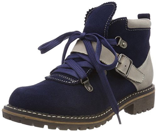 HIRSCHKOGEL by Andrea Conti Damen 3000500 Stiefel, Blau (Navy), 39 EU