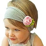 Kolylong Haarband 1 PC Baby Kind Kleinkind Mädchen Blume Hairband 17 CM (0 Monate bis 5 Jahre altes Kind) (A4)