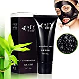AFY Blackhead Peel Off Mask, Blackhead Remover Mask, Black Mud Deep Cleansing Pilaten Blackhead Remover Purifying Peel Face Mask For Face Nose Acne Treatment Oil Control