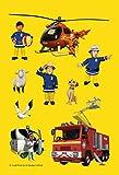 Feuerwehrmann Sam: Brandheißer Sticker- und M...Vergleich