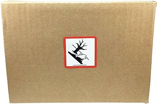 GHS Pictograma Ambiente Pegatinas, 51 mm 2 Pulgadas Cuadrado, 500 Etiquetas en un Rollo
