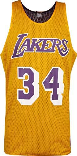 Mitchell & Ness NBA LA Lakers O'Neal #34 Tanktop Yellow