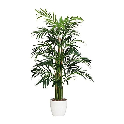 Künstliche BAMBUSPALME, ca 150 cm. Realtouch Kunst- Bambus- Palme im Topf.