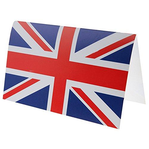 Queen England Kostüm - NEU Karte Großbritannien, 11 x 17 cm, 10 Stück