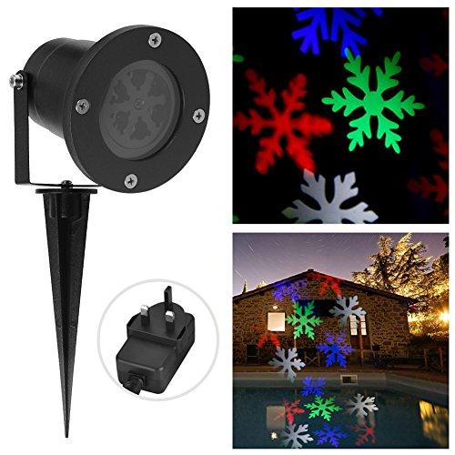 Preisvergleich Produktbild Zuoao LED Gartenstrahler Set Wasserdichtes Aussenstrahler Led Scheinwerfer Licht Beleuchtung Lampen für die Hinterhöfe, Gärten,  Weihnachten und Halloween