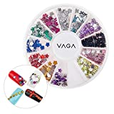 High Quality Decorations Wheel With Flowers Shaped Crystals / Rhinestones / Jewels / Nail Art Gems By VAGA