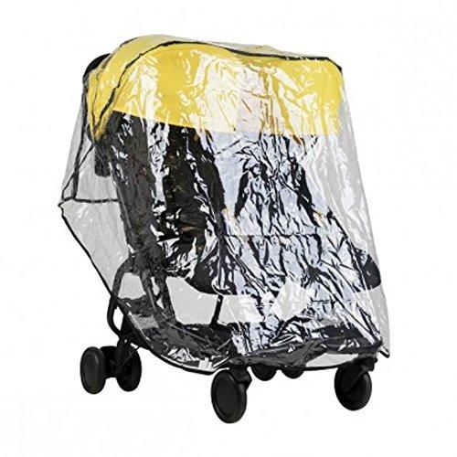 Couverture électrique Protection anti-pluie pour Mountain Buggy Nano Duo V1 - avec Sac Pratique