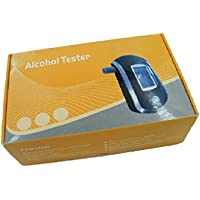 True Sense ALC AT6000 Alcohol Tester Detector Digital Portable LCD Display Breath Analyser Police Alcohol Breathalyzer…