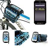 Fahrrad Rahmentasche für Cyrus CS 27, Fahrradhalterung