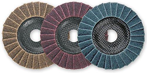 Osborn Polierscheibe D 125 mm, 3 Stück, 6900059100