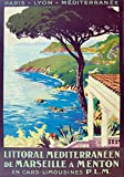 Unbekannt Poster Marseille Kinn, Kunstdruck, Format 50 x 70