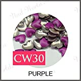 300x 3D DIY NailArt Gems Sticker Ohrstecker Neon Nieten fur
