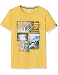 Quiksilver–Camiseta de manga corta, sshetteythparfo, Niños, Sshetteythparfo, Golden Glow, S/talla 10