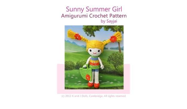 Sunny Summer Girl Amigurumi Crochet Pattern