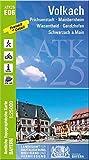 ATK25-E06 Volkach (Amtliche Topographische Karte 1:25000): Prichsenstadt, Mainbernheim, Wiesentheid, Gerolzhofen, Schwarzach a.Main (ATK25 Amtliche Topographische Karte 1:25000 Bayern) -