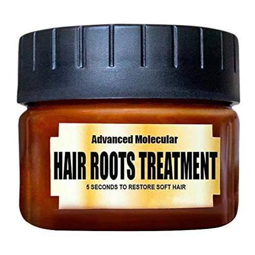 Syfinee Hair Roots Treatment Return Bouncy Restore Healthy Soft Hair Care Essence Hair Mask,Hair Perfector Repairing Treatment Advanced Molecular Hair Roots Treatmen for Women and Men -