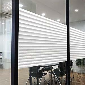 Rabbitgoo® Film Dépoli pour Vitre Intimité Adhésif Fenêtre Autocollant Opaque Statique 90 cm × 200 cm