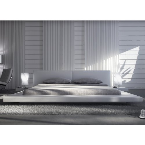 Innocent Designer Bett Pearl weiß, 180 x 200 cm