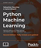 #10: Python Machine Learning: Machine Learning and Deep Learning with Python, scikit-learn, and TensorFlow, 2nd Edition