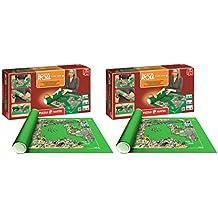 Outletdelocio. Pack 2 Puzzle Roll 3000 XXL. Tapete universal para transportar/guardar puzzles hasta 3000 piezas. Jumbo 17691