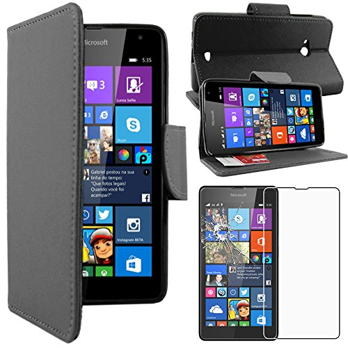 ebeststar-pour-microsoft-nokia-lumia-535-housse-coque-etui-portefeuille-support-pu-cuir-film-protect