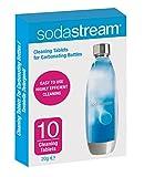 Sodastream Pastiglie per la Pulizia Bottiglie, 10 Unità