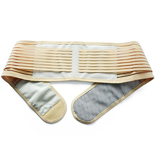konmed Turmalin selbsterwärmender Massage Gürtel Taille Rückseite Fatigue Schmerzen Krankheit Relief magnetisch Weit inrared Massage (Massage Taille)