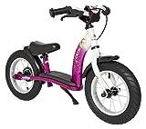 Laufrad Vergleich BIKESTAR Kinder Laufrad Lauflernrad Kinderrad für Mädchen ab 3 - 4 Jahre ★ 12 Zoll Classic Kinderlaufrad ★ Berry & Weiß bei Amazon