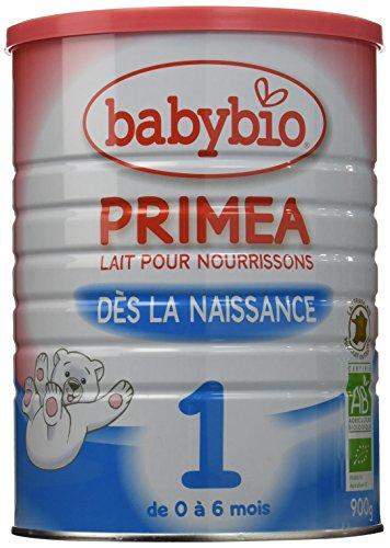 Babybio Lait pour Nourrissons Primea 1, 900 g - Lot de 3