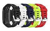 SUPORE Kompatibel Garmin Vivosmart HR Activity Tracker Ersatzarmband, Zubehör Verstellbares Weiches Silikon Ersatzarmband für Armbanduhren Entwickelt für Garmin Vivosmart HR Smart Watch