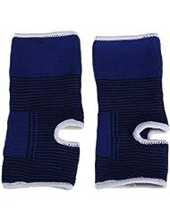 2pcs élastique cheville soutien soutien cheville de protection