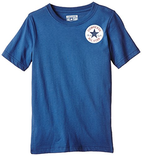 Converse Left Chest-T-shirt Bambini e ragazzi,    Blue Jay 10-12 anni