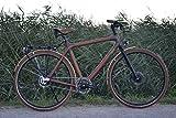 Bicicleta bambú-trans-sibérien-beboo Bike-Único y ética