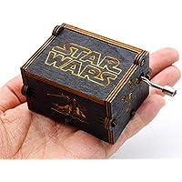 YB-EU Puro Mano clásico Star Wars Caja de música Caja de música de Madera a Mano artesanías de Madera Creativa Mejores Regalos