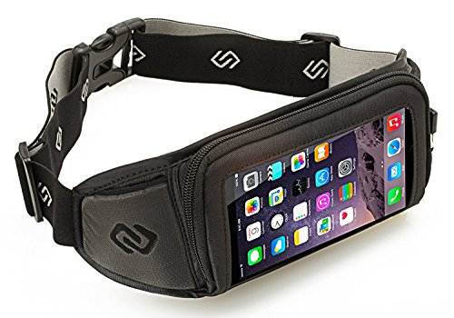 Kinetic K1Sport Gürtel für iPhone 7Plus, iPhone 6S Plus, Galaxy S6Edge +, Google Pixel XL, Galaxy Note 5, Galaxy S7Edge, Moto G4/G4Plus, Moto Z, Nexus 6P, und Anderen Handys mit Fällen