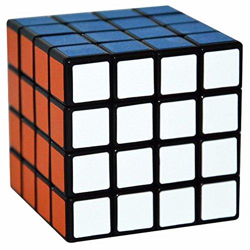 4x4x4 Puzzle Cubo, LSMY Toy Negro Scrub sticker
